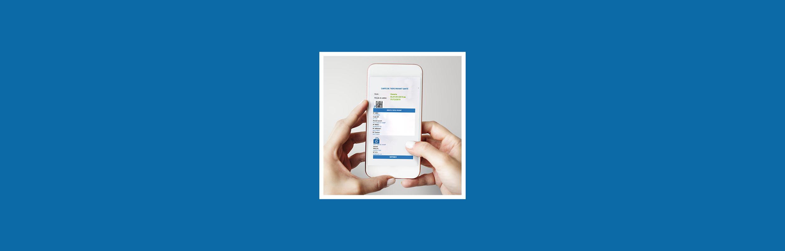 Nouveau : votre carte tiers-payant santé virtuelle
